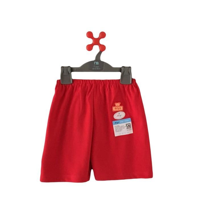 Miyo red celana pendek sml ( size besar )