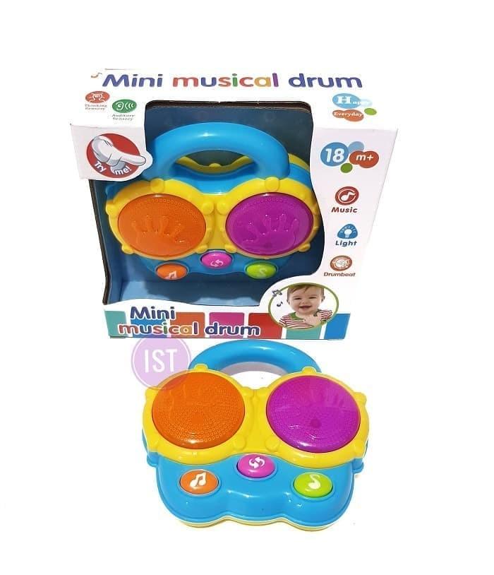 harga Mainan anak mini musical drum no.65078 Tokopedia.com