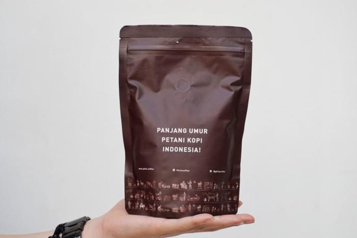 Foto Produk Biji Kopi Arabika Toraja Sapan 200g   Wet Process Wet Hulled dari Philocoffee