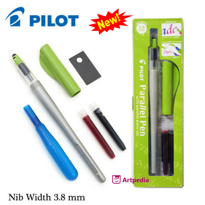 harga Pilot parallel calligraphy pen 3.8 mm nib / paralel pen Tokopedia.com