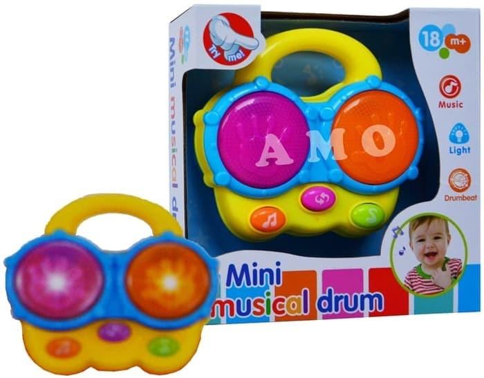 harga Mainan bayi mini musical drum Tokopedia.com