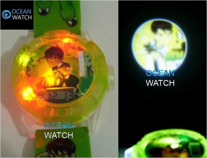 harga Jam tangan anak cowok proyektor lampu laser ben ten 10 alien ajp06 Tokopedia.com