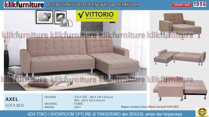 Jual Sofa Bed Lipat Minimalis Axel Vittorio Kota Tangerang
