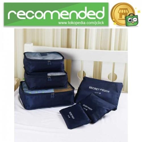 43c9fa68fe0 Jual Tas Travel Bag in Bag Organizer 6 in 1 - Biru Navy - JClick ...