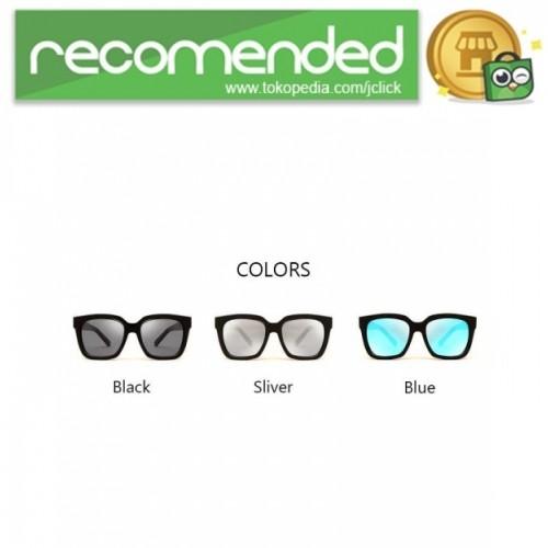 Jual Kacamata Pria Korean V Style Polarized Sunglasses - Hitam Biru ... e866147968