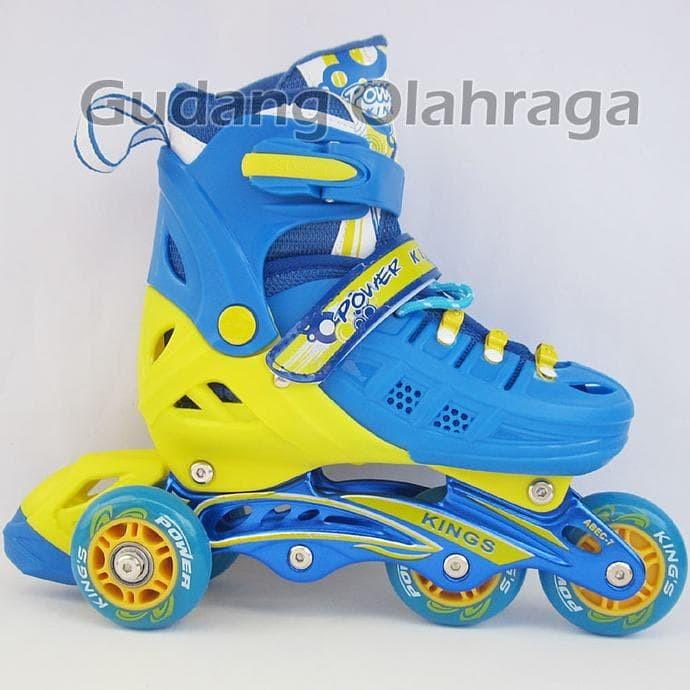 Cool Slide Sepatu Roda Inline Ban Full Karet Merah Sepaturoda Inline ... 94fafbcc0e