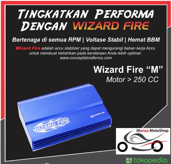 Jual CCU STABILIZER WIZARD FIRE (WIFI) SIZE M (MOTOR 250CC UP) - DKI  Jakarta - Monza MotoShop   Tokopedia