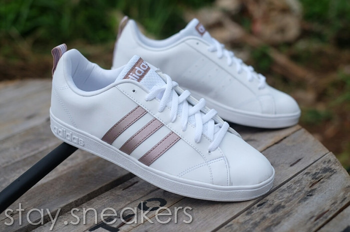 c2f454efba ... new zealand adidas neo baseline white rose gold 12e10 074ea