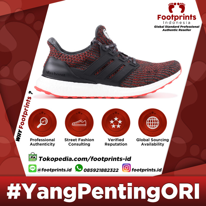 cd152e543a5 Jual Adidas Ultra Boost 4.0 Chinese New Year (2018) 100% Original ...