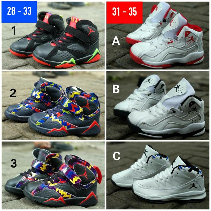 6b2681895fa harga Sepatu basket casual anak nike air jordan kids Tokopedia.com