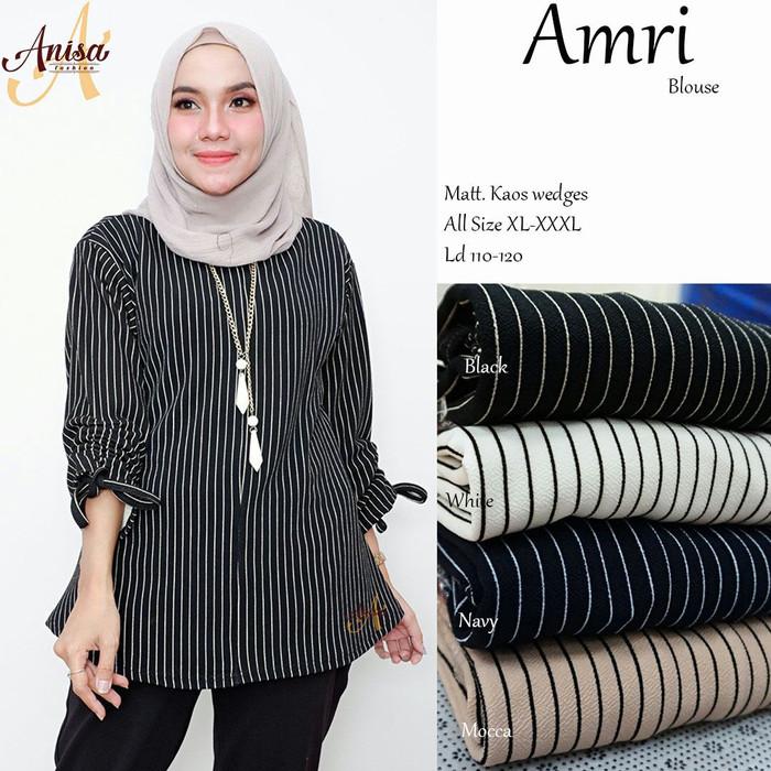 Jual Baju wanita blouse tunik amri muslim remaja modern lucc modis ... a39d8463f3
