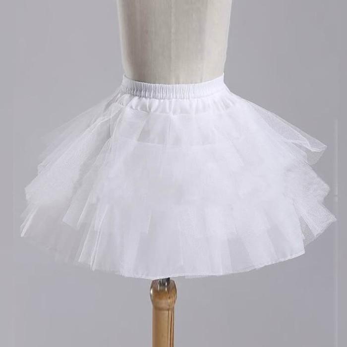 harga Petticoat karet tali rok pendek fleksibel pengembang gaun dress dewasa Tokopedia.com