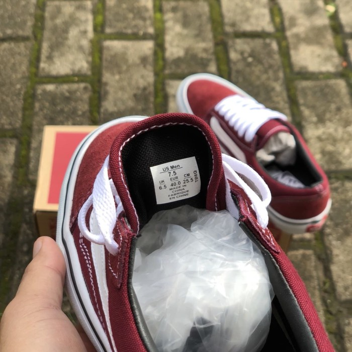 5e0dbd84ea5 Jual SEPATU VANS OLDSKOOL PORT ROYAL WHITE PREMIUM IFC (INCLUDE BOX ...