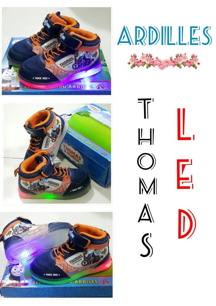 harga Sepatu anak laki laki boots led thomas ardilles Tokopedia.com
