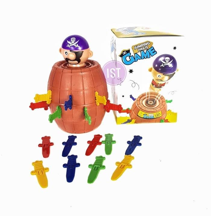 Foto Produk Jumping PIrate Game Pirates Roulette Family Game No.YF555 dari istanatoys.net