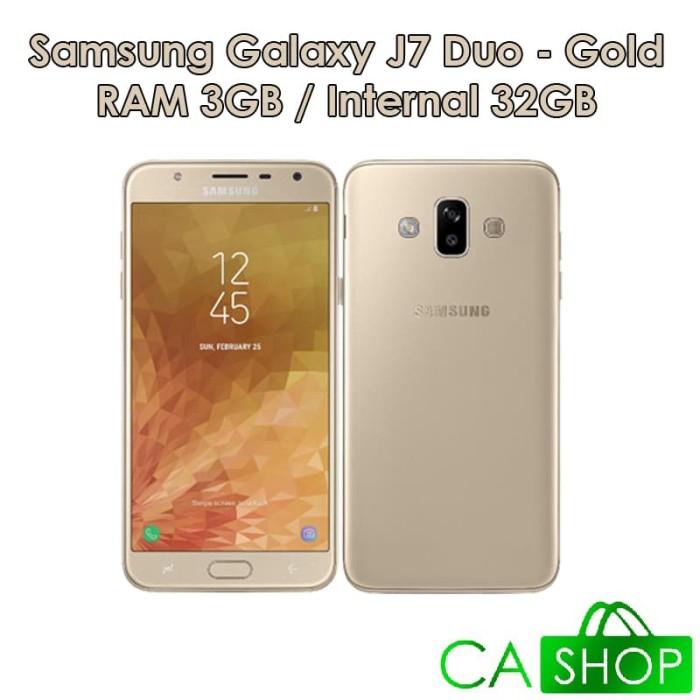 Samsung Galaxy J7 Duo - J720 - 3GB/32GB - Gold - NEW - GRS Resmi SEIN