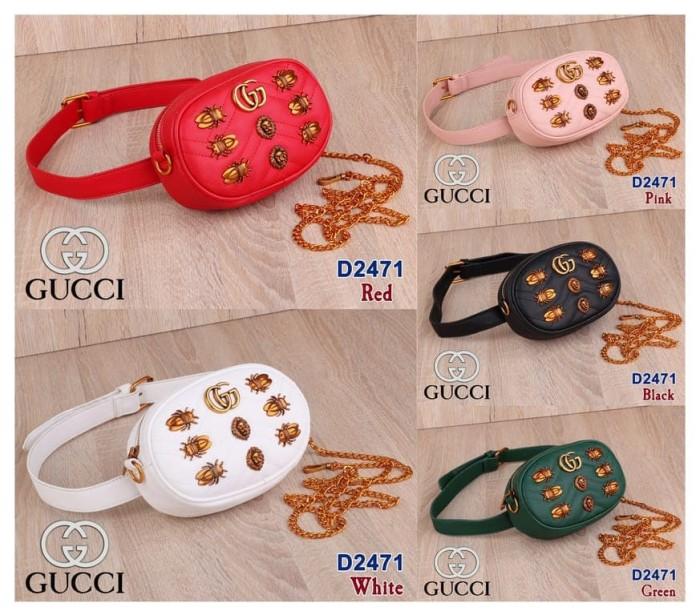 59432c146bf Jual Gucci Waist Bag D2471 - Tas Pinggang Wanita Murah - Kota Batam ...