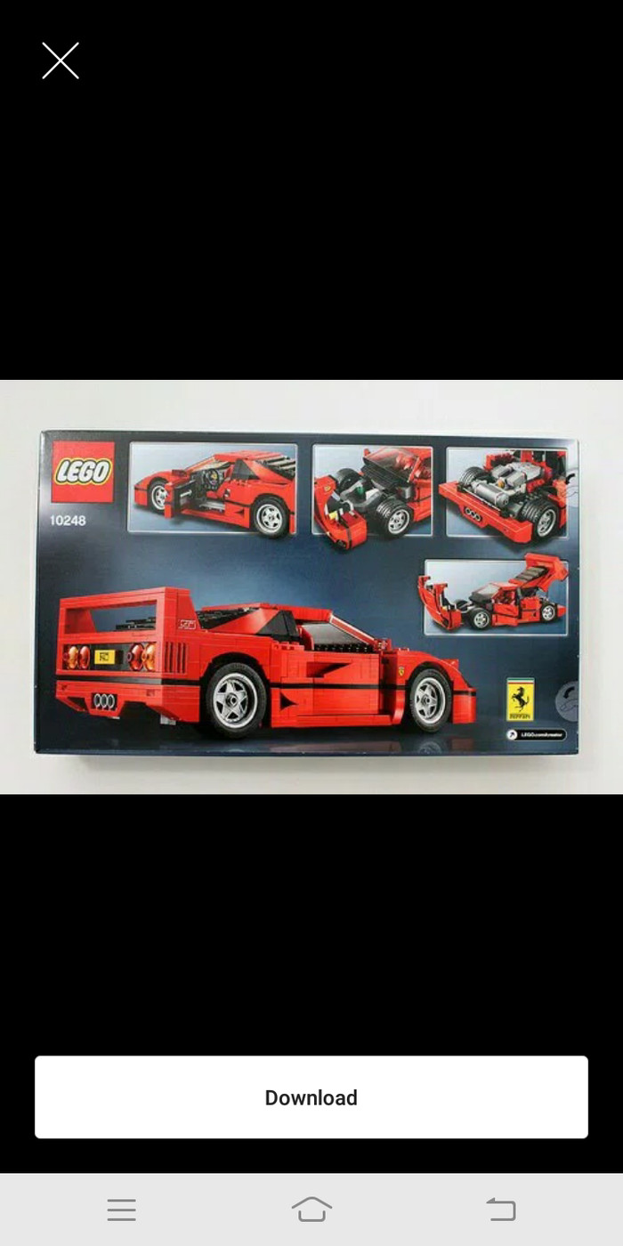 harga Lego creator ferrari f40 Tokopedia.com