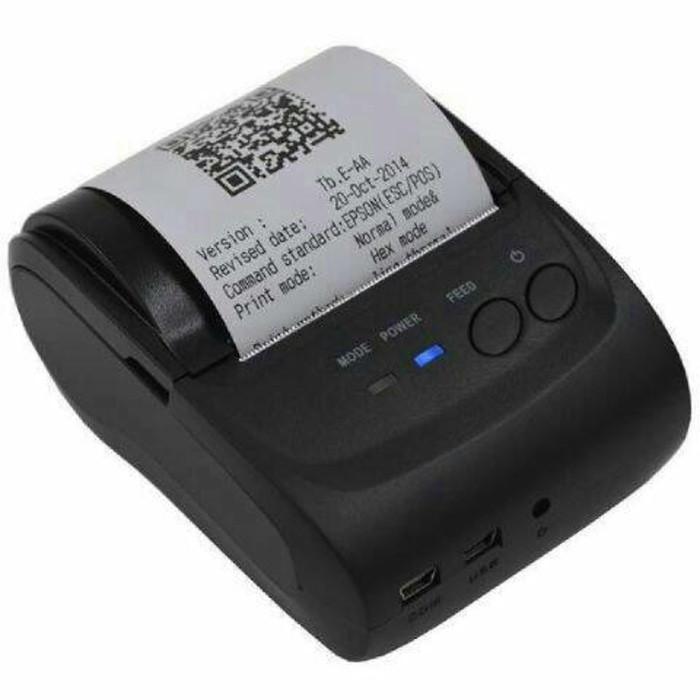 harga Mini portable printer bluetooth thermal print paytren kasir receipt Tokopedia.com