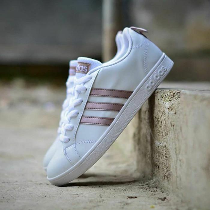 548212c85be8 Jual Sepatu Adidas Neo Advantage White Rose Gold Original - DKI ...
