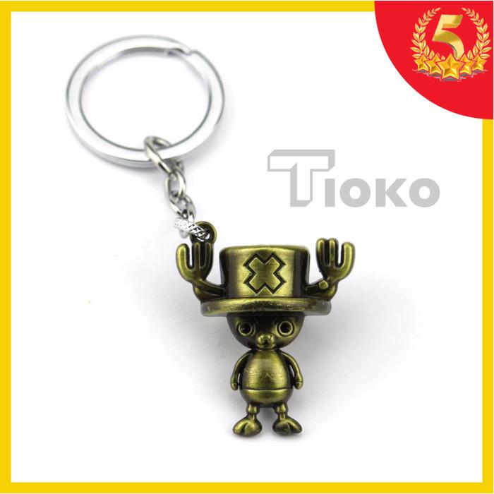 harga Gantungan kunci anime one piece chopper bahan logam action figure Tokopedia.com