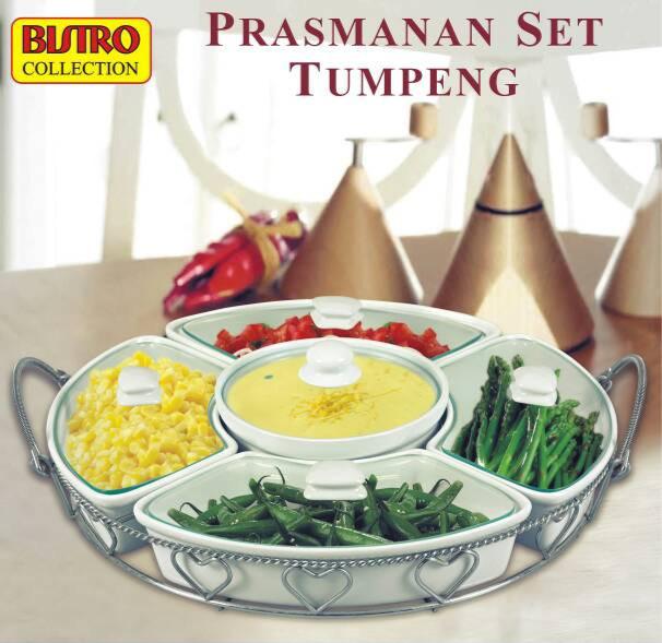 harga Bistro collection prasmanan set tumpeng / tempat saji / piring saji Tokopedia.com