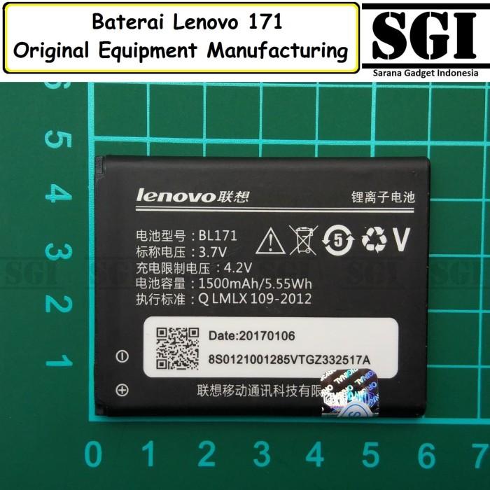 harga Baterai handphone lenovo bl171 a60 a390 original oem batre batrai hp Tokopedia.com