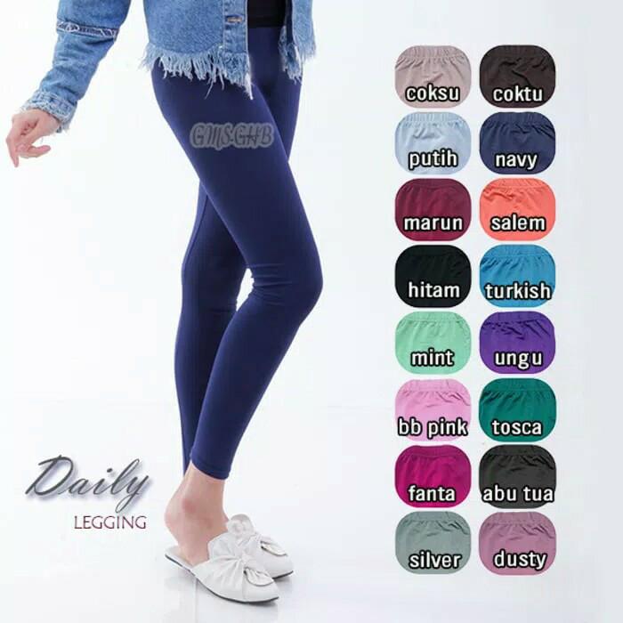 Jual Daily Legging Celana Dalaman Baju Gamis Dres Kab Bandung Barat Fashion Gamis Hijab Tokopedia