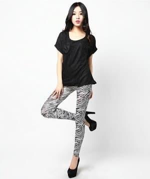 Katalog Legging Motif Zebra Stretch Travelbon.com