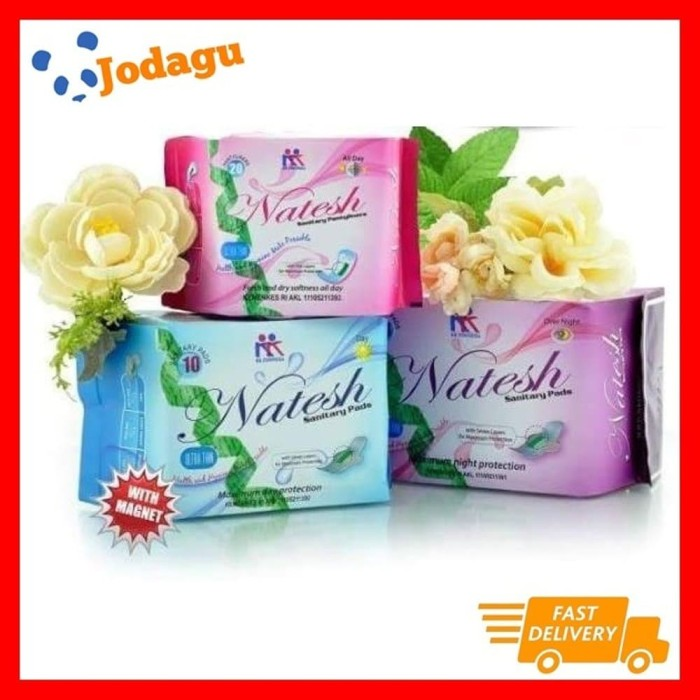 Foto Produk Set Pembalut Herbal Natesh Night, Day & Panty dari Jodagu