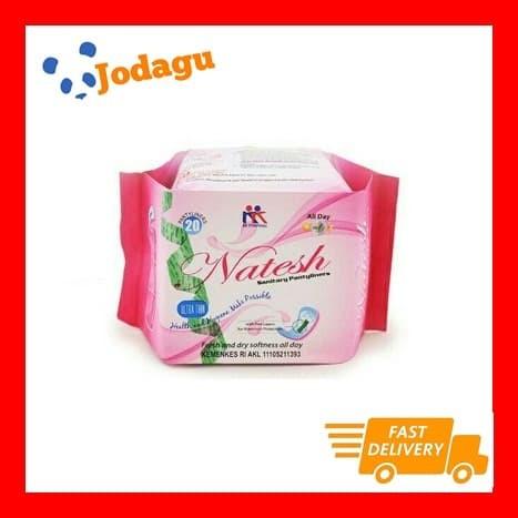 Foto Produk Pembalut Herbal Natesh Pantyliner dari Jodagu