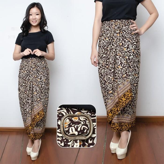 Miracle Rok Panjang Amara Janita Jeans Payung Wanita. SB Collection Rok Lilit Cedrica Maxi Panjang Jumbo Batik Wanita