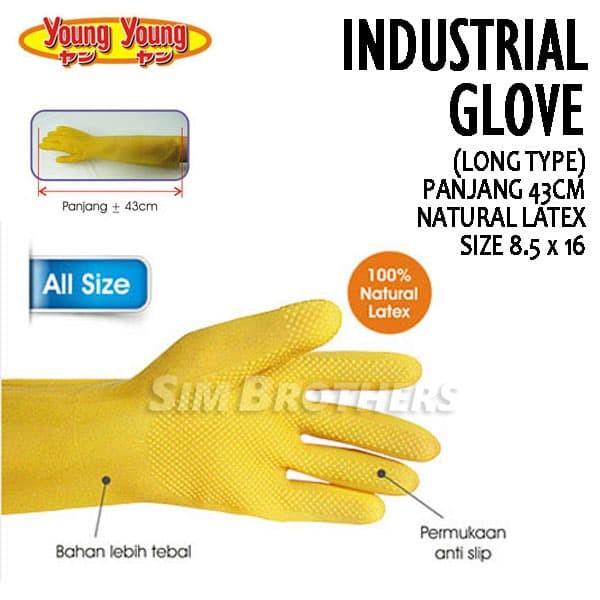 harga Sarung tangan karet young young industrial gloves Tokopedia.com
