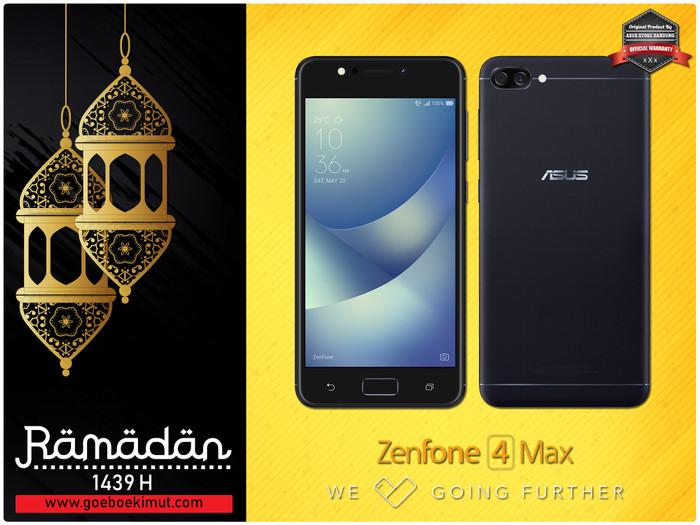 harga Asus zenfone 4 max zc520kl 4g 3/32 13mp + 5mp + 8mp + free snack resmi Tokopedia.com