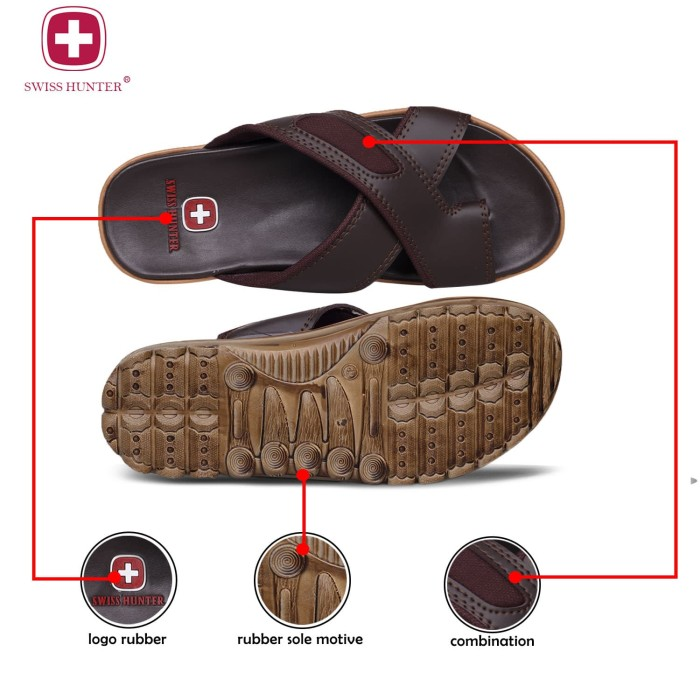 ... Swiss hunter tactical sandal pria