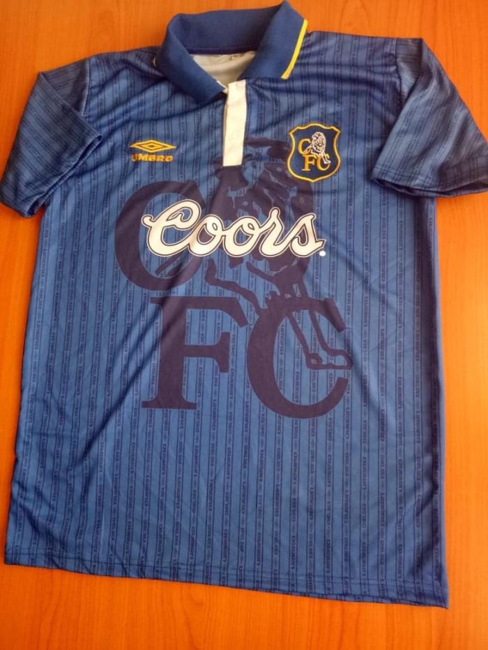 detailed look 96166 0763c Jual Jersey Chelsea Home 95/97 (Coors) - Kab. Bogor - Eleven Soccer |  Tokopedia