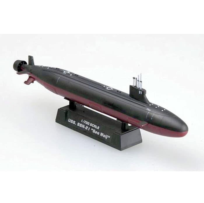 harga Hobi miniatur kapal selam ssn-21 uss seawolf easy model 15 cm 1:700 Tokopedia.com