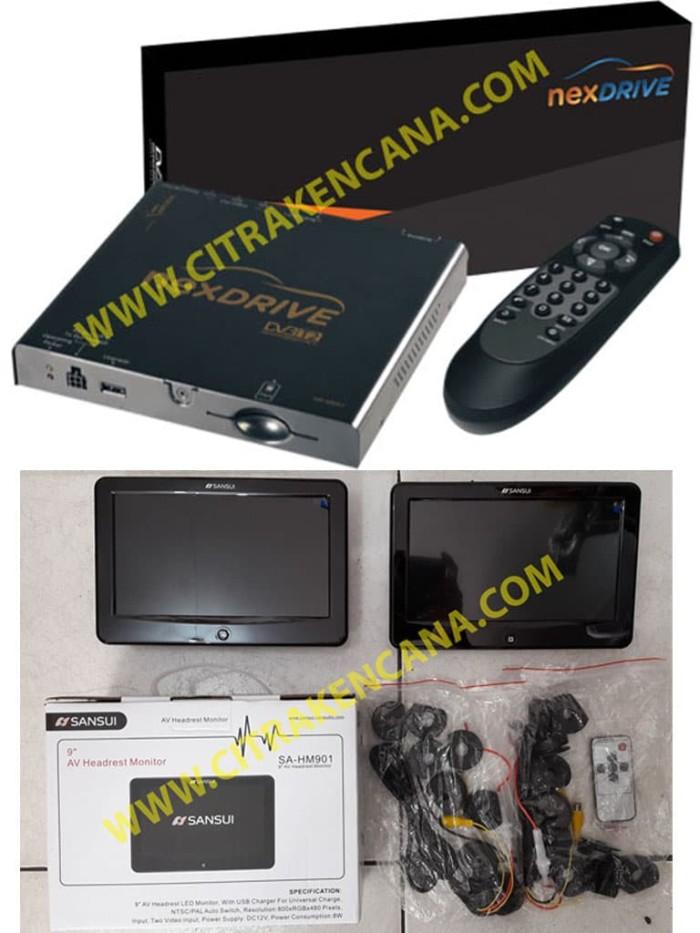 harga Paket Tv Tuner Nexdrive + Headrest Monitor Blanja.com