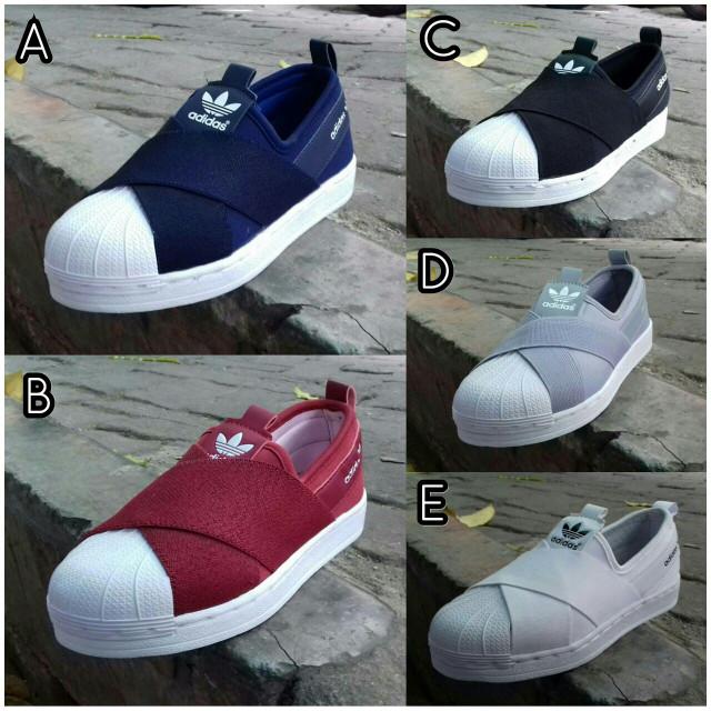 ... harga Sepatu anak adidas superstar slip on kids 31-35 sepatu anak slip  on Tokopedia 2c3f641867
