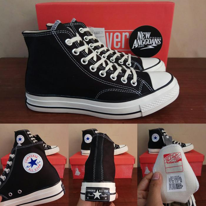 Jual Sepatu Converse All Star 1970s 70s Seventies Black White Hitam ... 0996bd634c