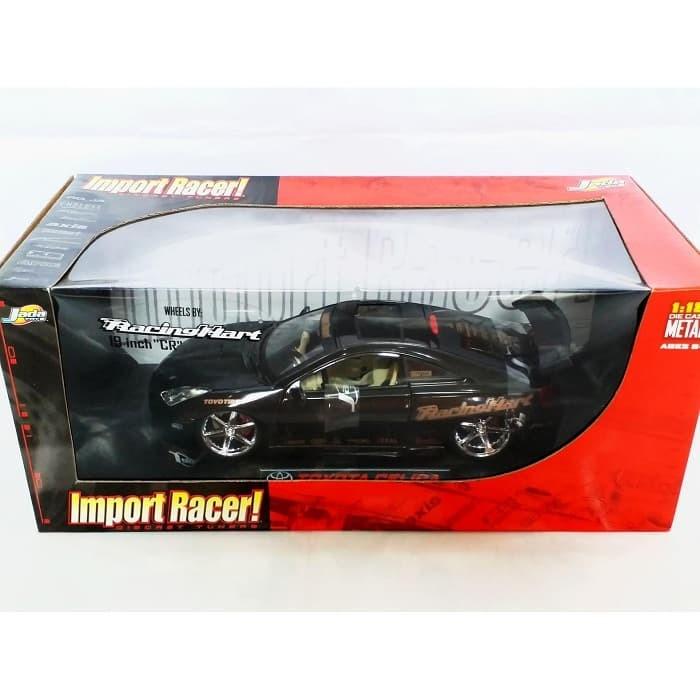 harga Diecast jada 1:18 import racer toyota celica hitam Tokopedia.com