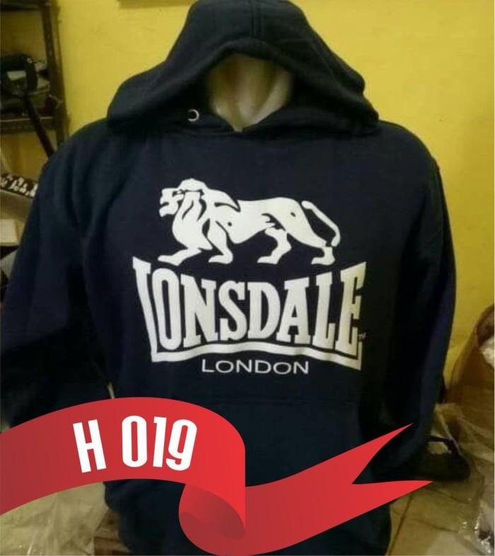 harga H019 polos jaket hoodie lonsdale Tokopedia.com