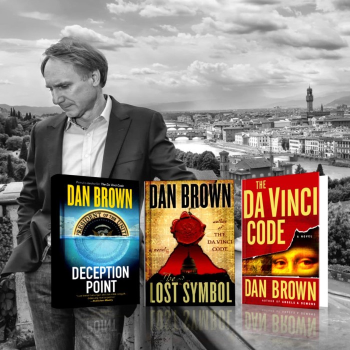 Jual Paket 3 Buku Dan Brown Deception Point Lost Symbol Da Vinci