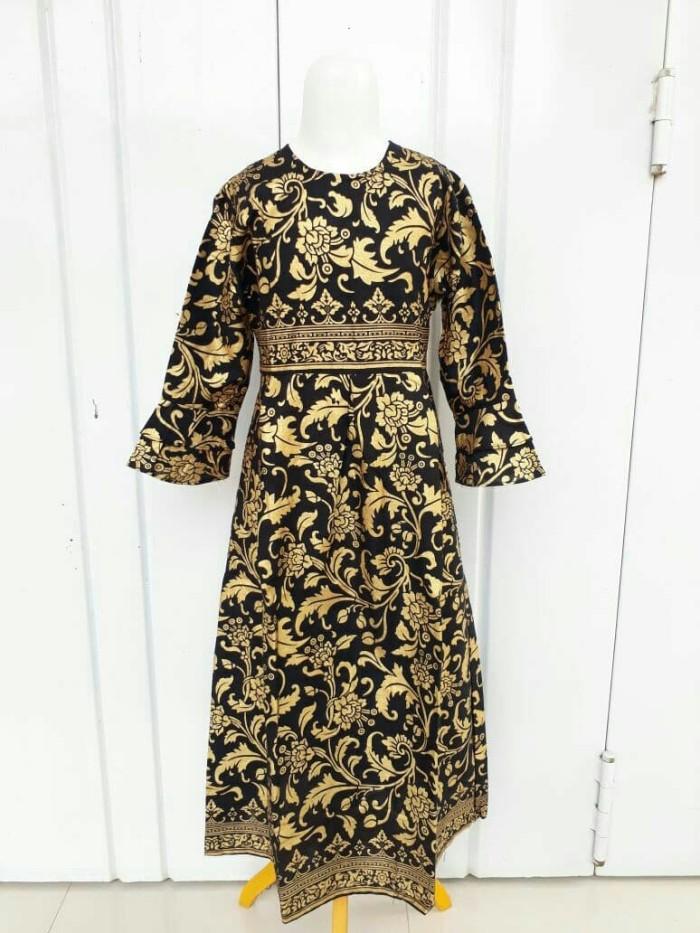 harga Gamis batik anak modern baju batik anak dress Tokopedia.com