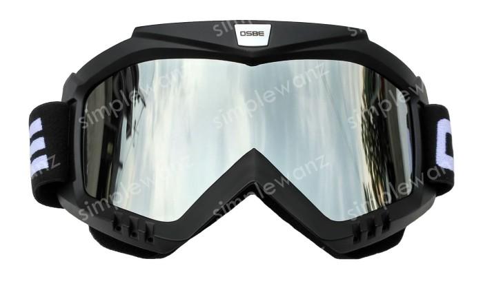 harga Kacamata | google motocross trail osbe silver lens | goggle pelangi Tokopedia.com