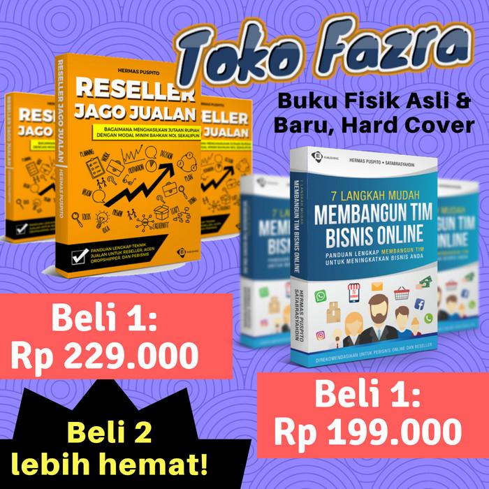 Buku Reseller Jago Jualan Membangun Tim Bisnis Online Bonus Ebook