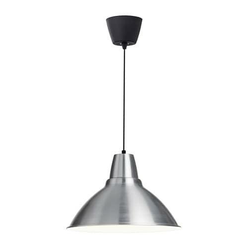 harga Lampu gantung meja makan dapur cafe restoran ikea foto aluminium 38cm Tokopedia.com