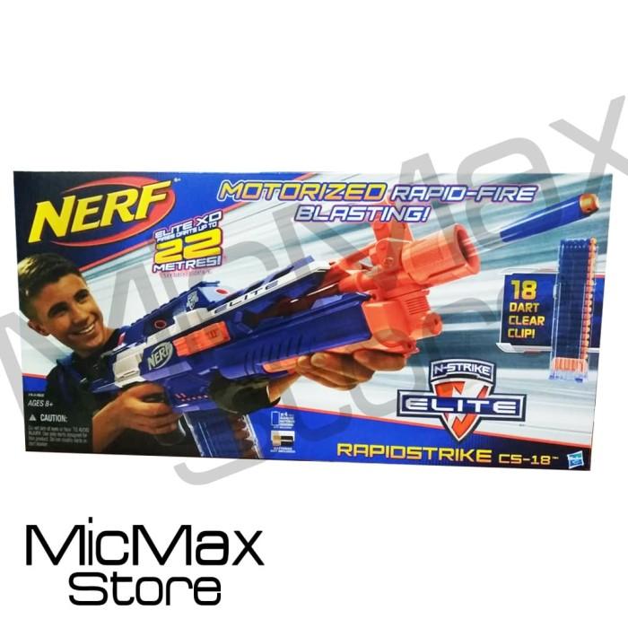 harga Nerf rapidstrike cs-18 mainan original asli Tokopedia.com