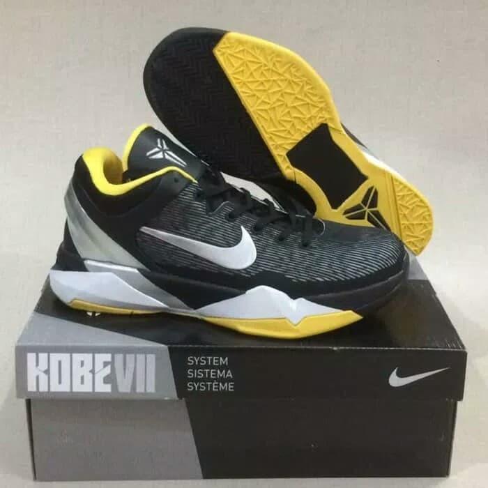 1af0a5c50e3c Jual Sepatu basket kobe 7 attack fast black yellow - Kota Batam ...
