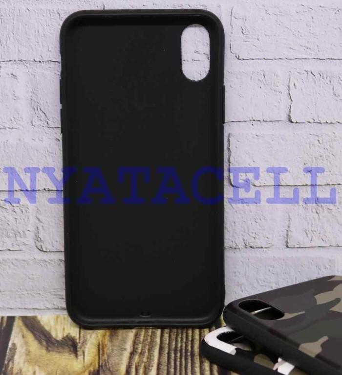 Case Matte Army Iphone X  Soft Anti Minyak Softcase SoftShell Loreng - Hijau 8e227ecba2